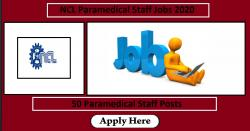 NCL Paramedical Staff Jobs 2020 | 50 Paramedical Staff Posts