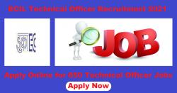 ECIL Technical Officer Recruitment 2021 Apply Online for 650 Technical Officer Vacancy